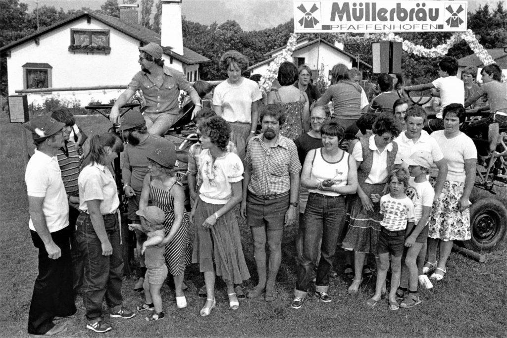 Die ersten Radlstrampler mit der Radlgunde 1982