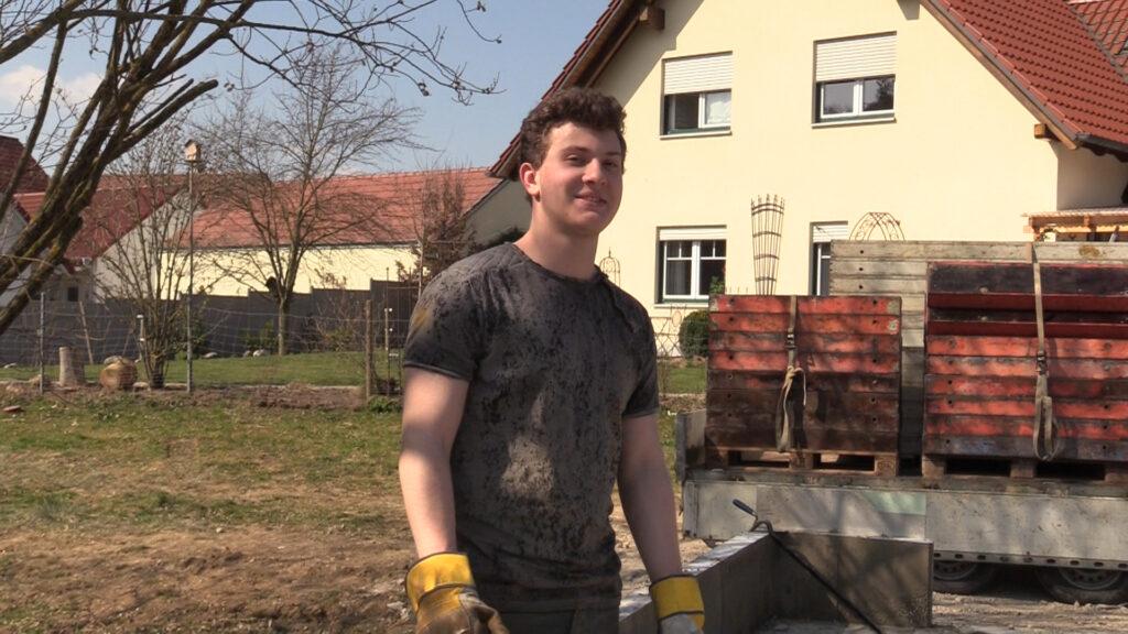 04. April - Maximilian hat geholfen!